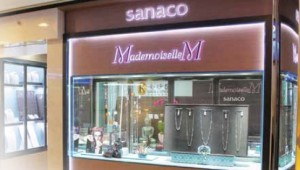 ジュエリーショップ「sanaco」の姉妹店