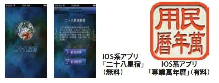 風水アプリ