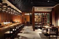 日本風の内装