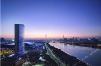 景色とモダンシティーの融合「シャングリラ ホテル広州」広州市海珠区
