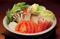 トマトスープの冬限定鍋「とんかつさぼてん」銅鑼湾(コーズウェイベイ)