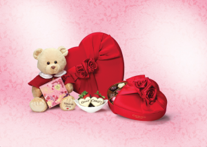 2014 Vday Bear & Romantic Heart Box