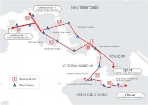 マラソンルートマップ