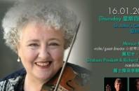 ヴァイオリン奏者モニカ・ハジェット、香港セント・ジョンズ教会で一夜限定演奏会!