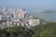 絶景スポット「珠海景山公園」珠海市香洲区