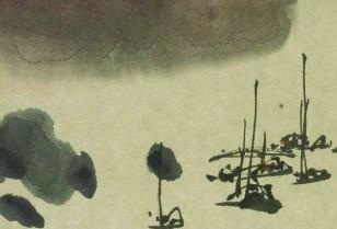 現代中国芸術界の巨匠「高剣父」と「呂寿琨」の作品展を開催