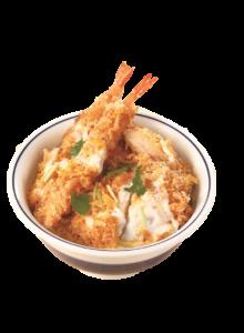 海老・ヒレ・メンチカツ丼
