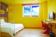 広州大学都市の中「ロマンスホテル(広州情縁酒店)」広州市番禺区