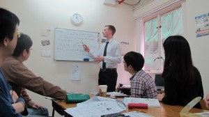 プレスランゲージセンターの英語教師