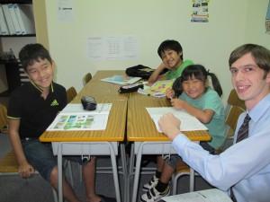 プレスランゲージセンターの子供教室