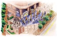 銅鑼湾タイムズスクエアで「アントニ・ガウディ」建築展開催