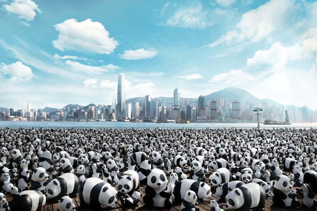 1600頭のパンダ