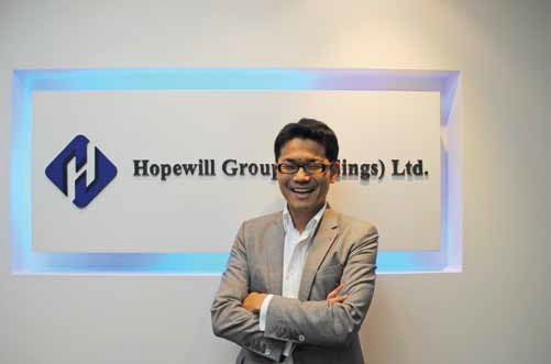 Hopewill Group(Holdings)Ltd. 代表取締役会長 堀 昭則氏