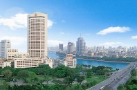 広州観光の海珠広場に佇む「ホテルランドマーク広東」広州市