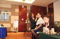 日本航空(JAL)と資生堂「キレイになれるメイク講座」を広州開催