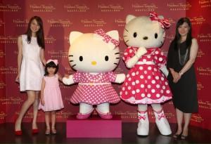 Hello Kitty登場「香港マダムタッソー蝋人形館」