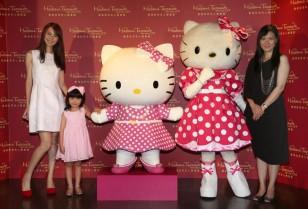 Hello Kitty登場「香港マダムタッソー蝋人形館」ザ・ピーク