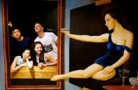 3D絵画アートを体験・体感「3Dミュージアム」尖東(チムトン)