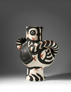 パブロ・ピカソ陶芸展示