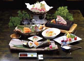 富士山物語のコース料理