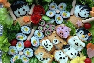 大人から子供まで飾り巻き寿司 料理教室「iCook」觀塘(クントン)