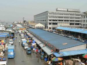 広州の海鮮市場