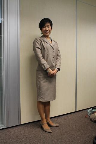 マニュライフ保険アドバイザー、平原奈津子さん