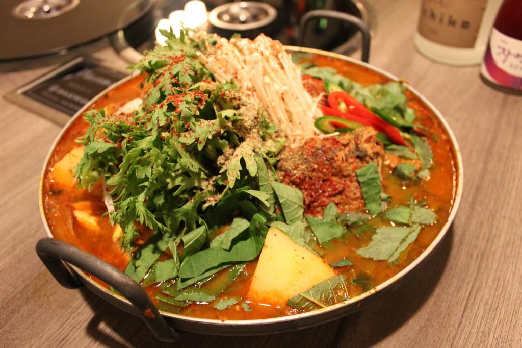 韓国式火鍋