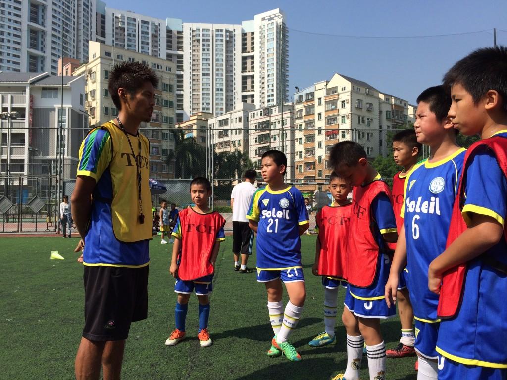 楽山孝志が育成年代のコーチング業を開始