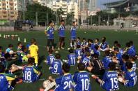香港サッカー 楽山孝志が育成年代のコーチング業を開始