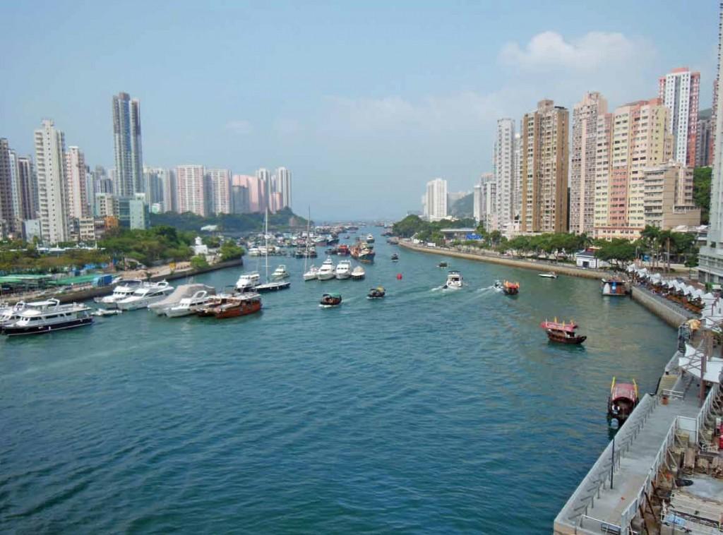 漁民の街アバディーン(香港仔)