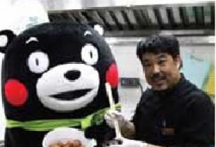 観塘(クントン)で「くまモン」がIzumi Curryとコラボし「YATA×KUMAMOTO CAFE」オープン