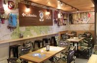 """銅鑼湾(コーズウェイベイ)カフェ「GUM """"JENG"""" Wild Cafe」"""
