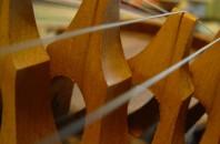 伝統的な民族楽器、古箏「星海音楽廳 交響楽廳」広州市越秀区