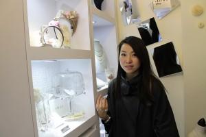 宝石デザイナーのSwan Chungさん