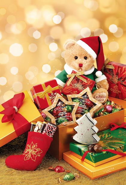 GODIVAがクリスマス期間限定商品を発表