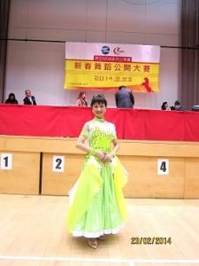 麻美さん社交ダンスの写真2