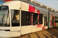 最新技術と新システムの路面電車「広州海珠区有軌電車」