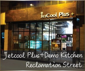 JETCOOL PLUS DEMO KITCHEN RECLAMATION STREET