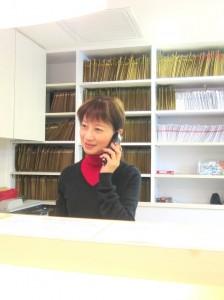 麻美さん職場の写真
