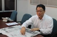 「日本経済新聞国際版ニュースの活用方法」電気化学工業(香港)貿易 松原光彦