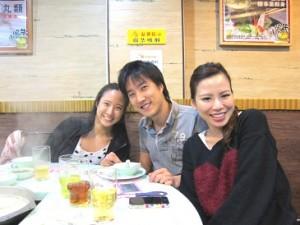 麻美さんの息子さん夫婦と娘さん
