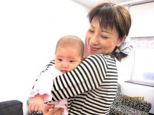 麻美さんとお孫さん
