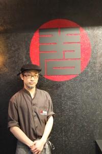 料理長栗田氏