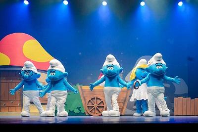 ベルギーのキャラクター「スマーフ」のイベント