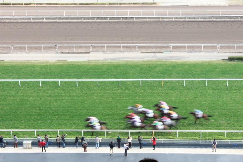 香港で一番人気のスポーツ、競馬