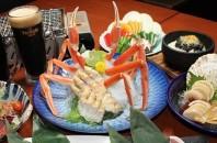 銅鑼湾(コーズウェイベイ)刺身・炭焼「笑宴」沖縄牛と黒ビール