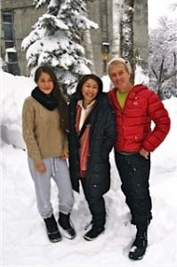 マクドナルド直子さん家族写真