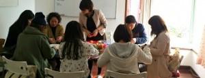 語学教室の風景