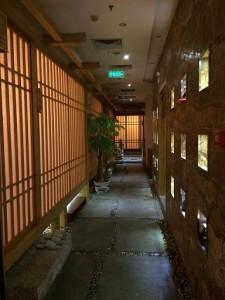 日本料理 正本の店内